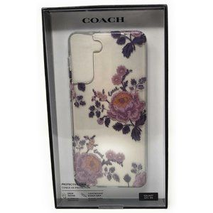 Coach Floral Case for Samsung Galaxy S21+ 5G
